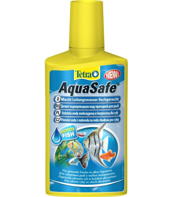 Tetra AquaSafe 100ml 250ml 500ml 5l