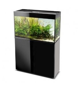 Aquael Glossy 125l zestaw bez szafki Czarny / Biały