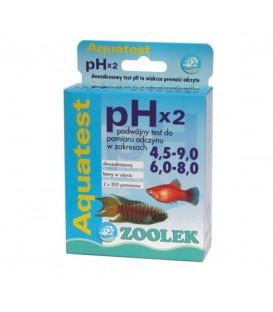 Zoolek Test PHx2 4,5-9.0 i 6,0-8,0 NA ODCZYN NOWY