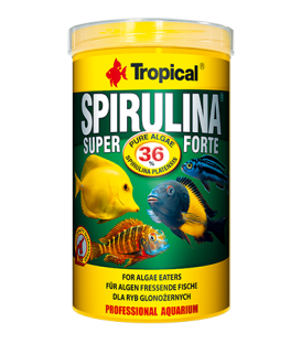 TROPICAL Spirulina Super Forte 36% 200g/1000ml