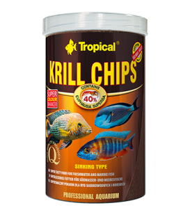 TROPICAL Krill Chips 2,5kg/5l
