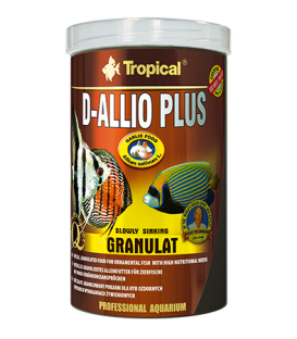 TROPICAL D-Allio Plus Granulat 6kg/10l