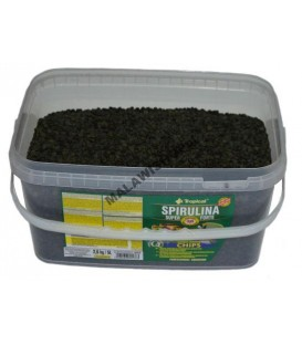 TROPICAL Spirulina Super Forte 36% chips 2,6kg/5l