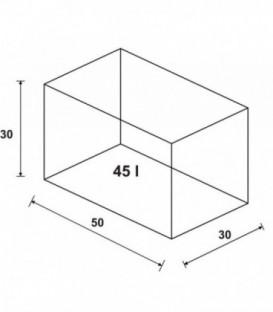 Wromak Akwarium proste 50x30x30h