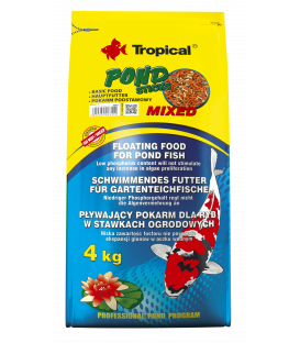 TROPICAL POND STICKS MIXED KOI 4KG