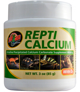 ZOOMED Repti Calcium 85g - Wapno dla gadów i płazów z wit. D3