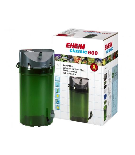 EHEIM Classic 600 (2217) z zaworami i zestawem wkładów
