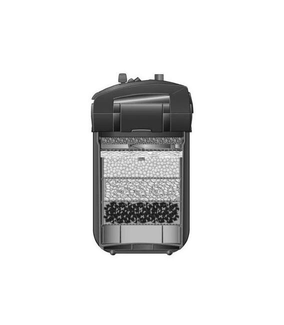 EHEIM Professionel 4+ 350 2273 filtr zewnętrzny z wkładami filtracyjnymi