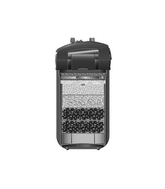 EHEIM Professionel 4+ 600 2275 filtr zewnętrzny z wkładami filtracyjnymi