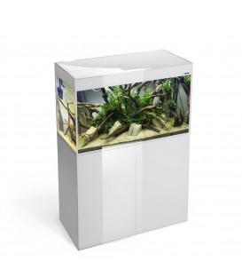 Aquael Glossy 215l zestaw bez szafki Czarny / Biały