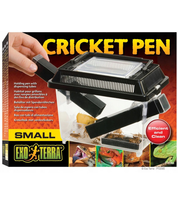 EXO TERRA Cricket Pen S Terrarium na karmówkę (18x14x11cm)